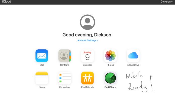 Apple iCloud.com updated
