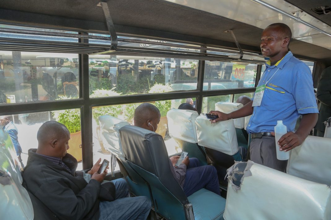 Safaricom partners with Matatus to collect fare using M-Pesa