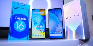 TECNO Camon 16 Premier and Infinix Zero 8 Comparison