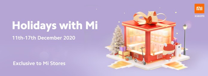 Pick up a new device during Xiaomi Kenya's Christmas Sale