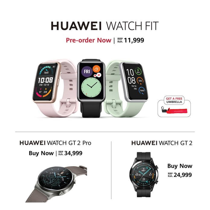 Pre-orders open for the Huawei Watch Fit