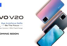 Vivo V20 Launching in Kenya with 44MP Selfie Camera