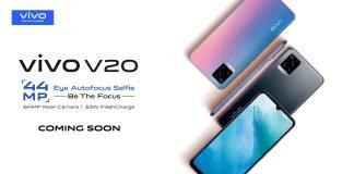 Vivo V20 Launching in Kenya with 44MP Selfie Camera
