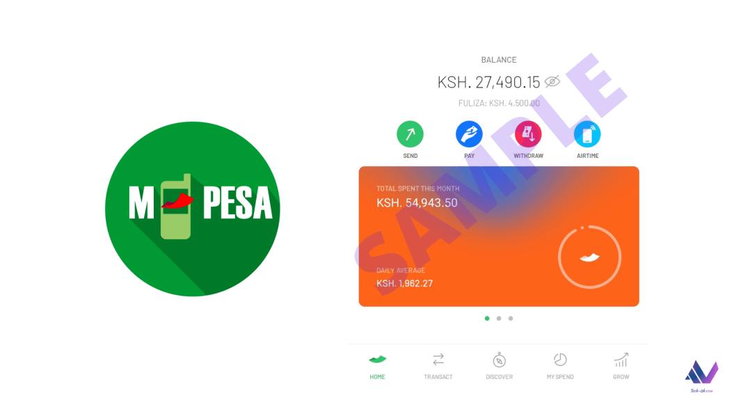 Safaricom New M-Pesa App