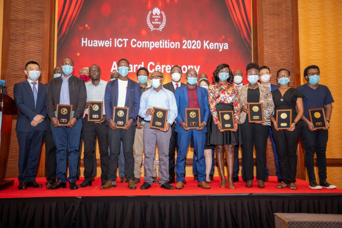 Kenyan students win at Huawei's ICT Global Competitions