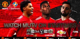 StarTimes will distribute MUTV to subscribers in over 30 countries across the sub-Saharan region including Nigeria, South Africa, Kenya and Ghana. Viewers will receive exclusive Manchester United content 24 hours-a-day.