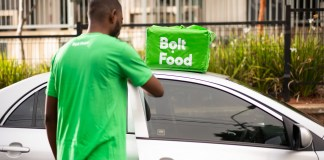 Bolt Food Delivery Service is now available in Nairobi