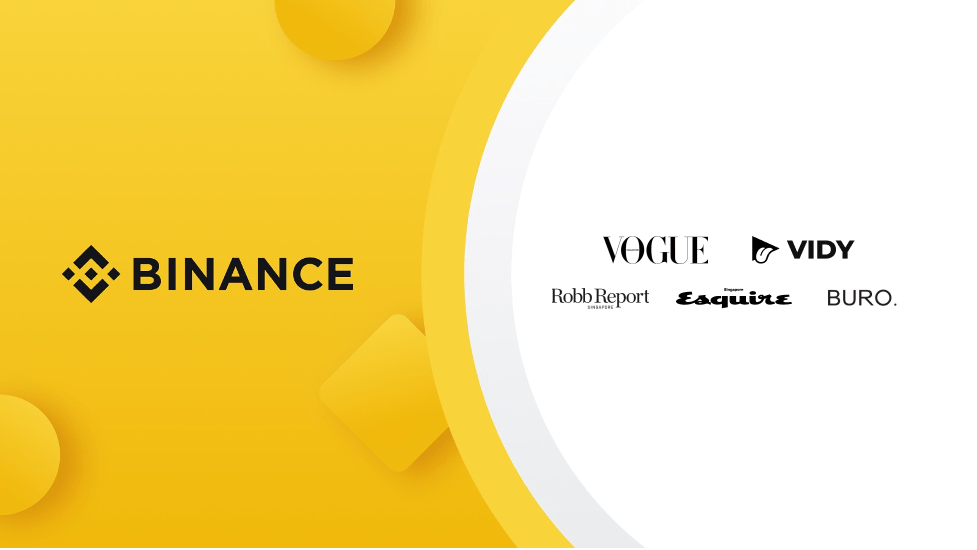 Binance is building NFT Platforms for Vogue and Esquire in Singapore