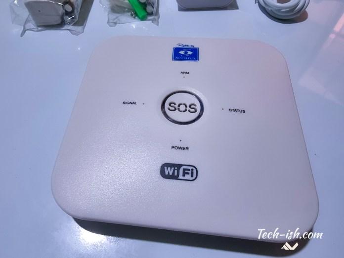 The Base Station WiFi Alarm Rafiki by Securex