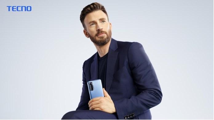 TECNO names Hollywood Star Chris Evans as Global Ambassador