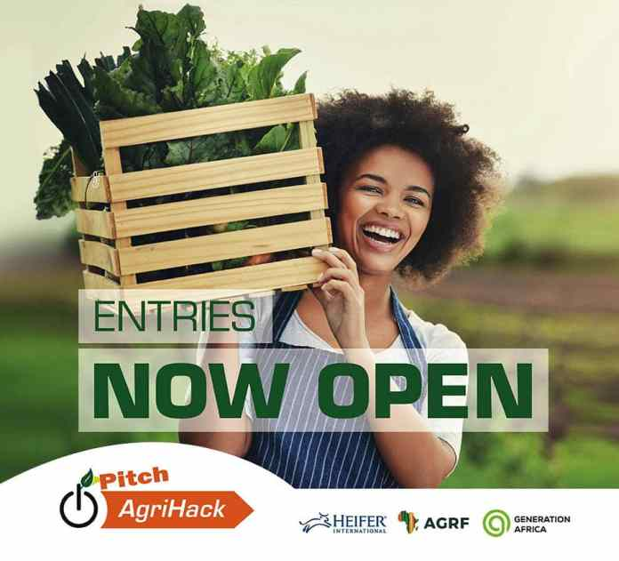AGRF and Heifer International announce launch of Pitch AgriHack 2021