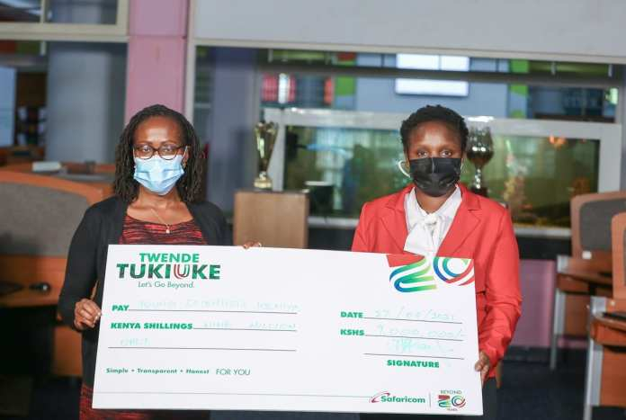 Young Scientists Kenya receives KES 9 Million from Blaze by Safaricom