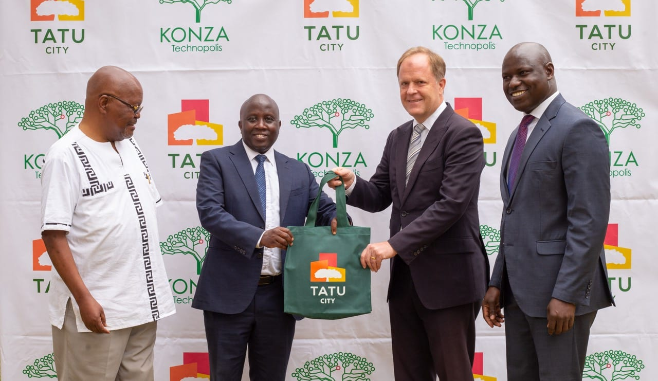 Konza and Tatu Cities agree to establish Special Economic Zones