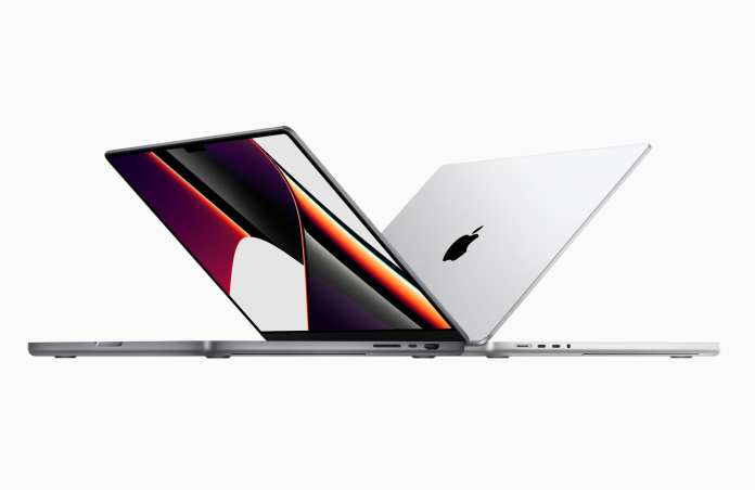 Apple loves the Notch! Now on the MacBook Pros!