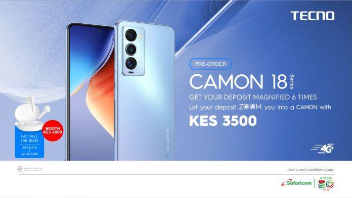 TECNO Camon 18 Pre-orders Open in Kenya