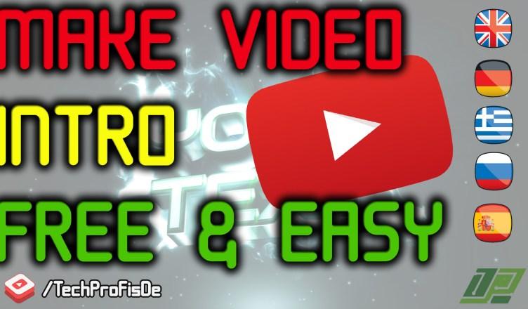 Cómo hacer un vídeo para YouTube Introducción gratuito en línea! No hay software necesario!