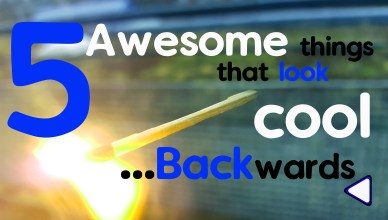 5 awesome things that look cool backwards