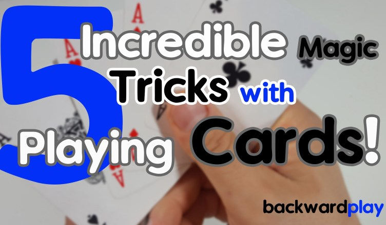 5 Incredible Magic Tricks with Playing Cards - Funny Edition