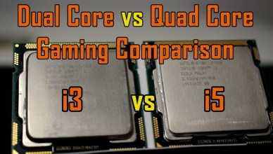 4 Cores vs 4 Threads Gaming Test Comparison Intel Core i3 vs Core i5 vs GTX960 4GB