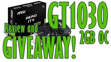 Nvidia GT 1030 Review and GIVEAWAY! Gaming Performance Test in 11 Games | i7 4790k