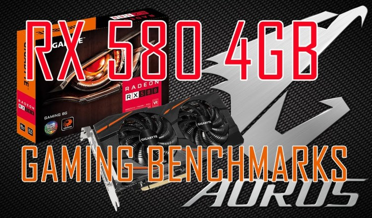 Radeon RX 580 4GB Review Test in 10 Games RX580 Gaming 4G Gigabyte Aorus