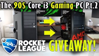 The 90$ Core i3 Gaming PC + Rocket League Giveaway