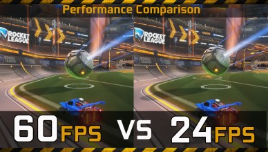 60 FPS (Gaming) vs 24 FPS (Movies) Gaming Performance Comparison
