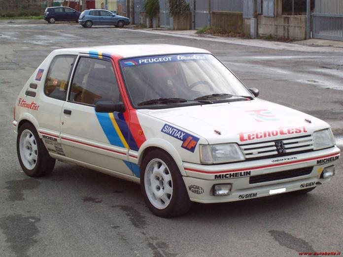 Peugeot 205 Gti 1 9 Group A 1987 Racing Cars