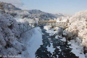 富山地方鉄道千垣橋梁