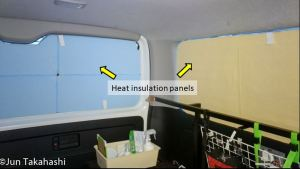 Measure the effect of heat insulation