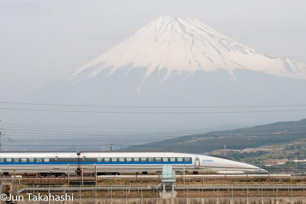 東海道新幹線富士山バック撮影地