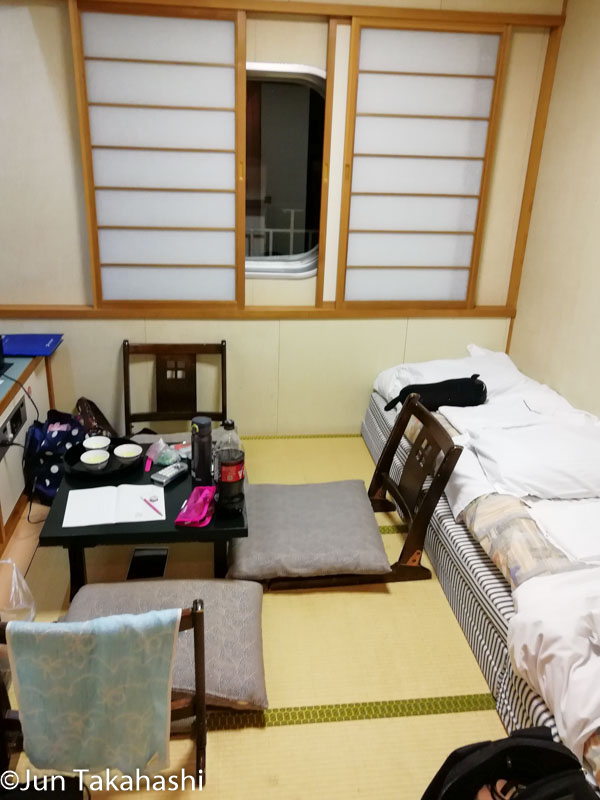 新日本海フェリーステートB室内