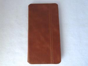 Kavaj Dallas iPhone 6 Plus Leather Wallet Case: Front Closed View