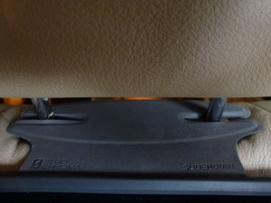 ZeroChroma Headrest Slide-Mount: Car Install Detail Pic