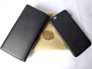 Story Leather Holster and Back Cover for iPhone 6 Plus