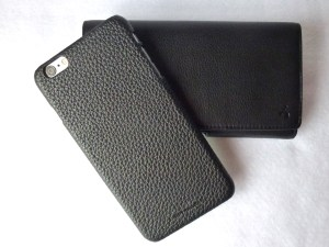 Story Leather Holster and Pebbled Back Cover for iPhone 6 Plus