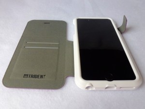 Trident Apollo Folio for iPhone 6 Plus: Front Open View