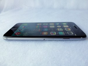 Cinder Screen Protector for iPhone 6: Side View