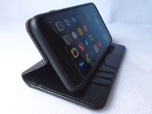Moshi Overture Wallet for iPhone 6 Plus: Stand View
