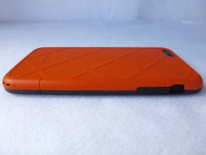 Dog and Bone Wetsuit for iPhone 6 Plus: Back Side View