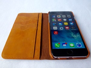 Artisan Wallet Case for iPhone 6 Plus: Open View No Cards