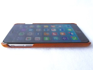 Artisan Wallet Case for iPhone 6 Plus: Phone Cradle Front Side View