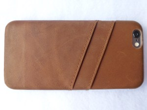 Doc Artisan Leather Card Case for iPhone 6- Back View