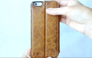 Doc Artisan Sport Wallet Case for iPhone 6 Plus- Back View