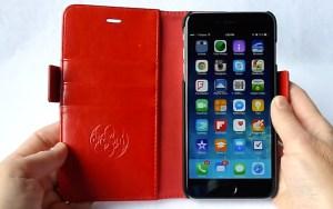 Dreem Fibonacci Wallet for iPhone 6 Plus- Open with No Cards