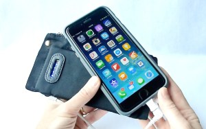 Mighty Purse- Battery Charging iPhone 6 Plus