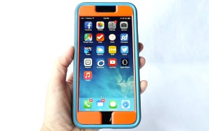 Speck MightyShell + Faceplate for iPhone 6 Plus- Vertical Front View