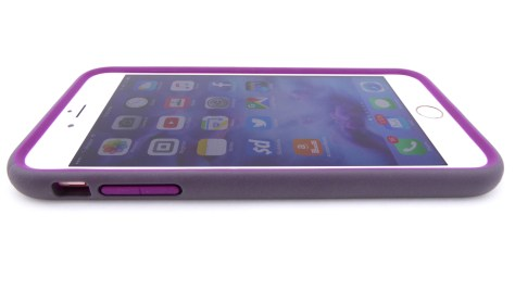 Speck MightyShell for iPhone 6s Plus in Lilac- Side View