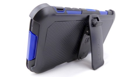 Griffin Survivor Summit for iPhone 6s Plus- Belt Clip Media Stand View