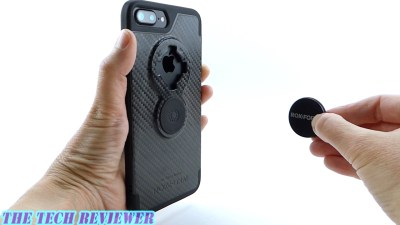 Rokform Crystal Carbon Fiber Case for iPhone 7 Plus: Magnetically Mountable with Mil-Spec Protection!